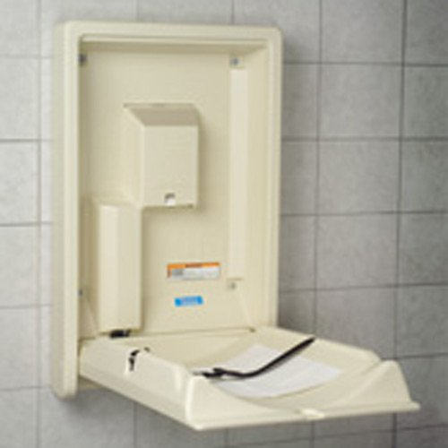 Facility Baby Changing Station Grey style Horizontal color