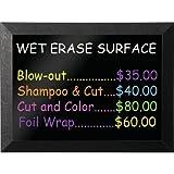 Wet Erase Magnetic Chalkboard Size: 3' H x 4' W