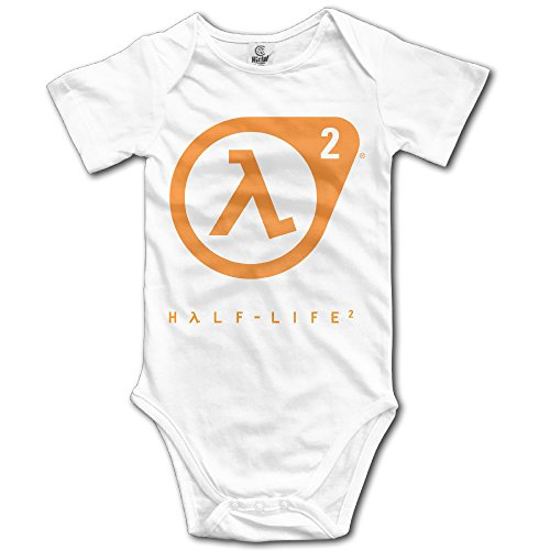 Price comparison product image Half-Life Ernest Rutherford's Doubling Time Baby Onesie Toddler-bodysuits