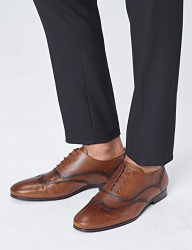 Marrone Brogue Scarpe Uomo FIND Brown wCRtx6ntSq