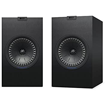 KEF Q350 Bookshelf Speakers (Pair, Black)