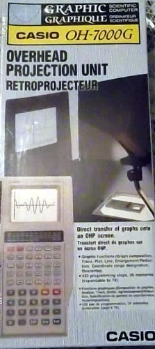 phic Overhead Projector Calculator OH-7000G (With Carrying Case) ()