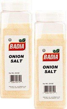 Badia Onion Salt 28 oz Pack of 2