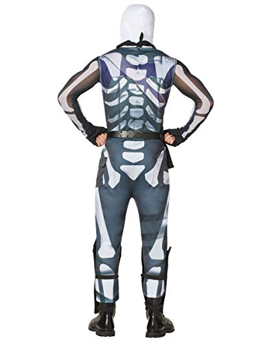 Spirit Halloween Adult Fortnite Skull Trooper Costume for Adults | Officially Licensed