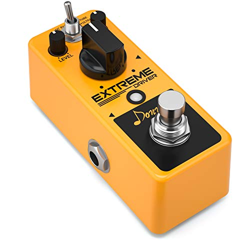 Donner Extreme Driver Analog Turbo Distortion Guitar Effect - Effects Driver Pedal