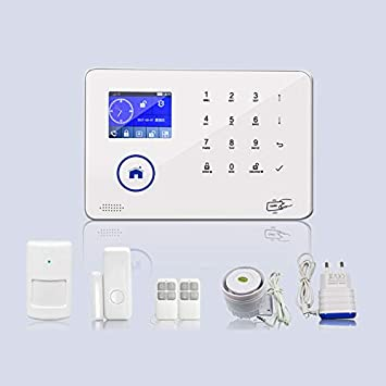 Amazon.com : 3G/GSM WiFi Burglar Alarm System Wireless DIY ...