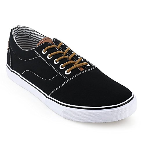 Black Mens Oak Sneaker UNIONBAY Harbor Low Top TY7xxFqdHw