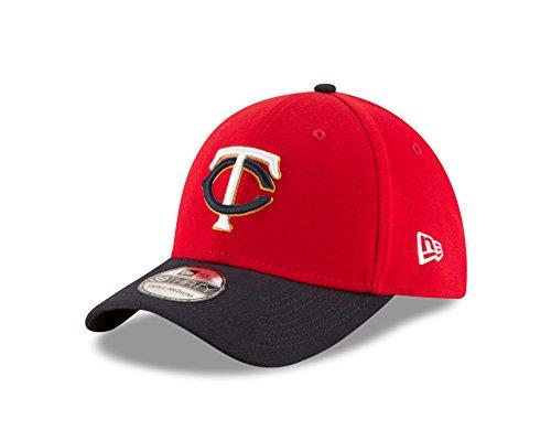 New Era MLB Minnesota Twins Alt 2 Team Classic 39Thirty Stretch Fit Cap, Small/Medium, Red ()