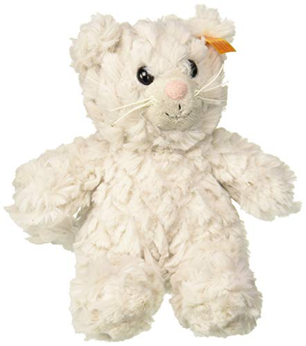 Steiff Soft Cuddly Friends Whiskers Kitty, Light Grey