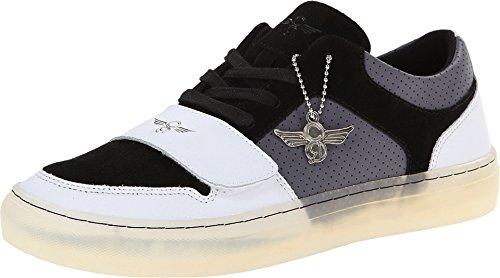 Creative Recreation Men's Cesario Lo X Black/White/Grey Sneaker 11 D (M)