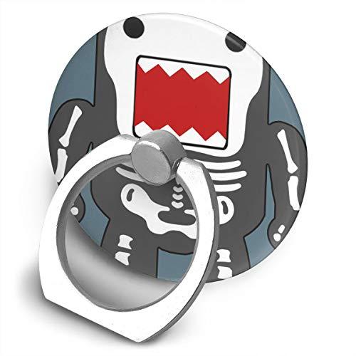Universal Phone Ring Bracket Holder Funny Cool Domo-kun Skeleton Finger Grip Stand Holder Ring Car Mount Phone Ring Grip Smartphone Ring Stent Tablet -