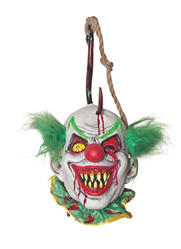 Morbid Enterprises Hooked Clown, Red/White/Green/Yellow, One Size