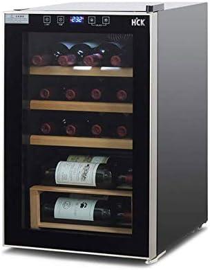 YFGQBCP Refrigerador de Vino, súper Tranquilo Compresor Profesional Frigorífico, Freestanding Vino Frigorífico Refrigerador y refrigerador