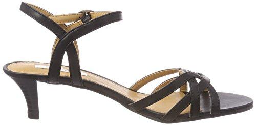Esprit Birkin Sandal, Sandalia con Pulsera Para Mujer Negro (Black)