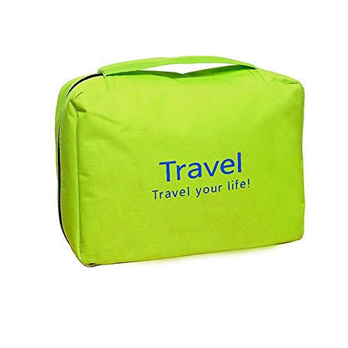Oumeiou Travel Toiletry Bag, Hanging Toiletries Kit for Make