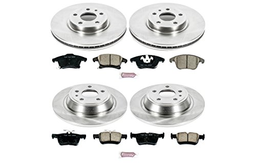 Power Stop KOE6556 Autospecialty Daily Driver OE Brake Kit by POWERSTOP (Image #1)