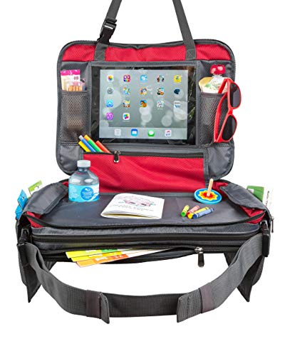 BE Family Travel - Kids Car Seat Toddler Travel Tray with Unique Fold-in