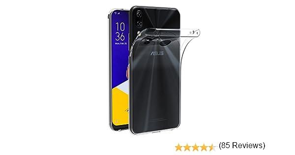 ivoler Funda Carcasa Gel Transparente para ASUS Zenfone 5 ZE620KL 6.2 Pulgadas/ASUS Zenfone 5Z ZS620KL 6.2 Pulgadas, Ultra Fina 0,33mm, Silicona TPU de Alta Resistencia y Flexibilidad: Amazon.es: Electrónica