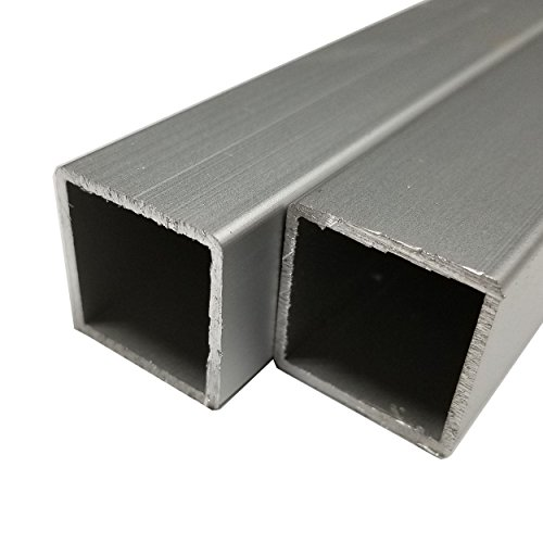 Online Metal Supply 6063-T52 Anodized Aluminum Square Tube 1