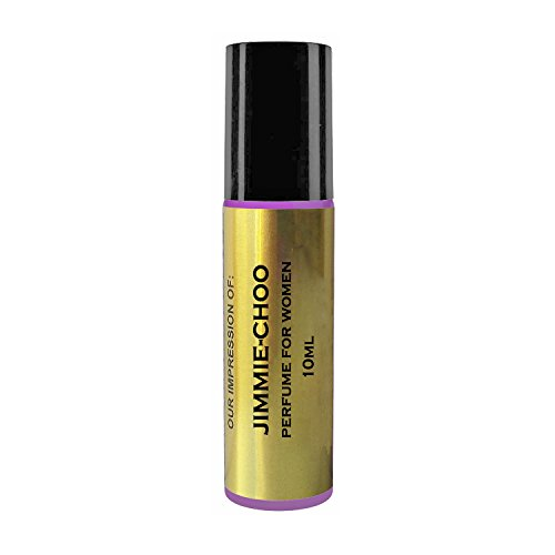 Perfume Oil IMPRESSION for women with SIMILAR Accords to Famous Designer Fragrances. Long Lasting, 100% Pure No Alcohol Oil. (Jimmey-Choo Impression - Famous Women Designer