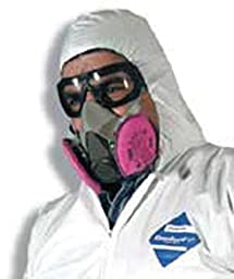 Large 3M 6000 Series Half Facepiece Respirator Assembly w/ 3M Particulate Filters, P100 - (4 Each) - R3-6391