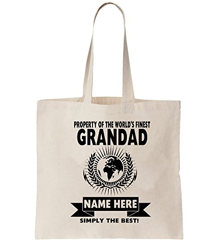 Bags World Family Grandfather Unisex Bag Tote Relative Job Grandad Work Shopping Finest Best Personalised World's Shopper YwqAqOU