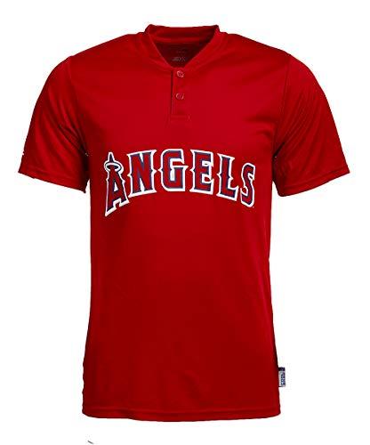 Majestic MLB Team T-Shirts (Angels, S)