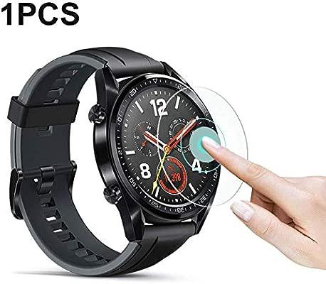 QueenHome - Pack de 2 Protectores de Pantalla para Huawei Watch GT ...
