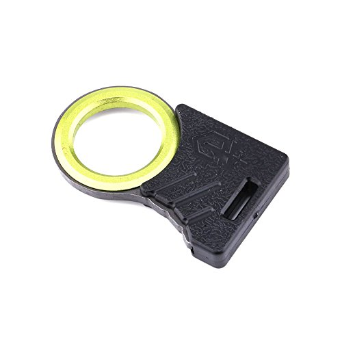 Hanperal Outdoor Survival GDC Hook Knife Rope Cutter tool Thumb Grip Key (Hook Cutter)