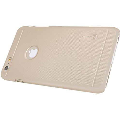 Meimeiwu Super-Frosted Tasche Qualitativ hochwertiges Super Schutzhülle Back Cover für iPhone 6 Plus iPhone 6S Plus,Gold