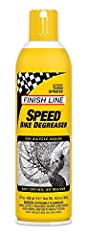 Finish Line Speed Degreaser (Speed Clean). A super duty cleaner formulated using the very latest of two impressive advances in cleaning chemistry. Baby does this stuff melt the crap away. Strips the ugliest of stuff right off, including the t...