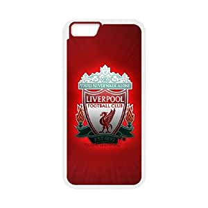 iPhone 6 Plus 5.5 Inch Custom Cell PhoneCase Liverpool FC Logo Case Cover LWFF34932