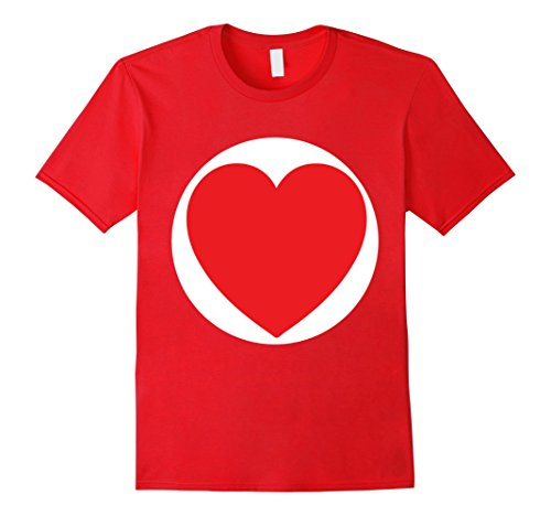 Mens Care One Heart Bears Halloween Group Costume TShirts Small (Group Halloween Costumes For Families)