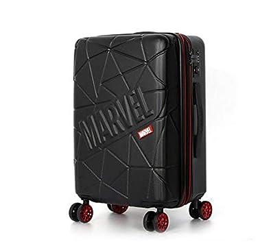 219741296c Amazon   H-TRAVEL マーベルアイアンマン スーツケース キャリーケース SUITCASE 旅行 出張 TSAロック Wheelpak  Black(海外直送品)   スーツケース