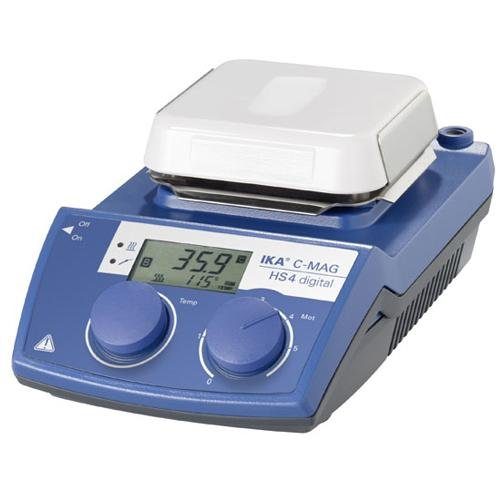IKA WORKS INC. 4240201 C-MAG HS 4 digital IKAMAG Hot Plate Magnetic Stirrer, Glass Ceramics Heating Plate, 115V - Ika Hot Plate