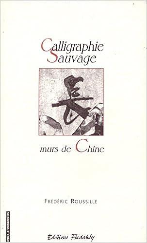 Livre Calligraphie sauvage : murs de Chine :  essai sur l'oeuvre et la calligraphie sauvage en Chine pdf