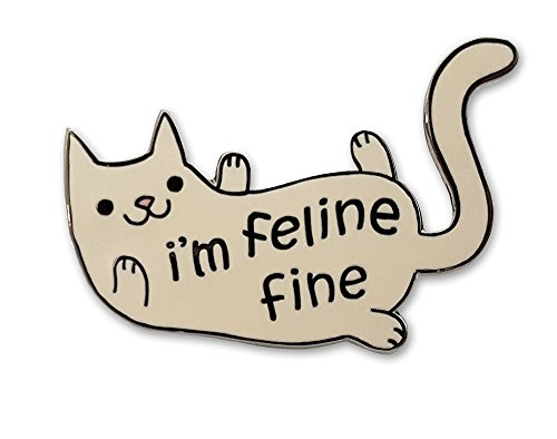 Enamel Cat Pin (Pinsanity Cute