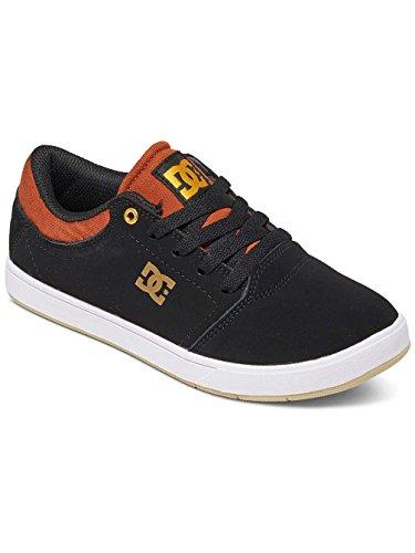 Dc Shoes Crisis - Zapatos Para Chicos (Niños/Kids) Multi-Couleurs - Black/Brown/White