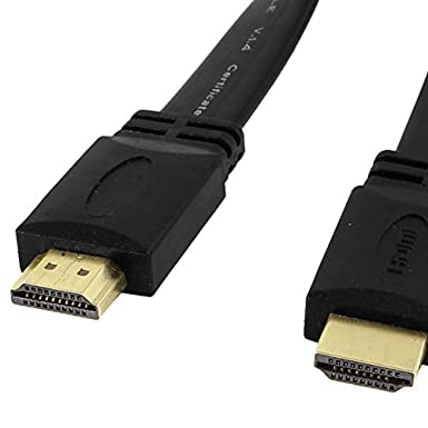 Sodial R 0 3 M 1 4 V High Speed 1 4 A Hdmi Video Audio Flat Cable M M 1080p 3d Business Industry Science