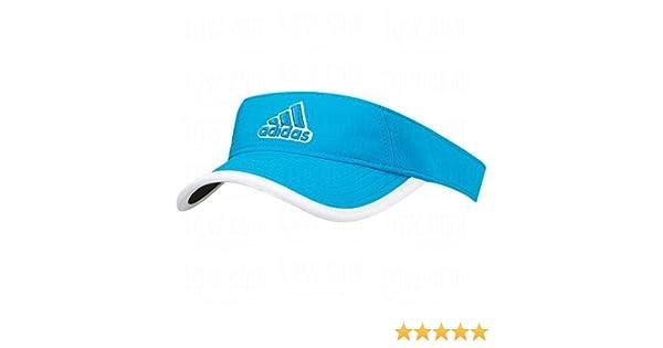 f411fbdcc660c Amazon.com   2014 Adidas Ladies Princess Golf Visor - Solar Blue   Sports    Outdoors