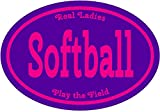 "SOFTBALL Sticker -""SOFTBALL RE"