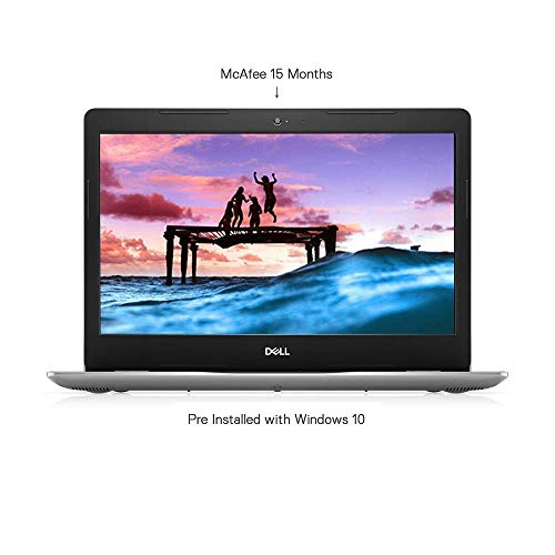 Dell Inspiron 3493 14-inch FHD Thin & Light Laptop (10th Gen Ci5-1035G1/8GB/1TB HDD/Windows 10 + MS Office/Intel HD Graphics/Silver) No Bag