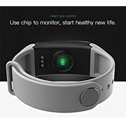 Smart Watch_Smart Wristband Fitness Silicone Bracelet Blood Pressure Heart Rate Monitor Device Watch Band Black,Black Hot New