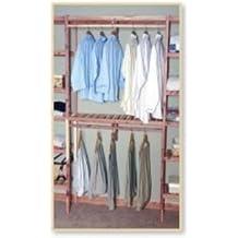 Northern Kentucky Cedar BVHK4812 Aromatic Red Cedar 48 in. Basic Ventilated Hanging Kit