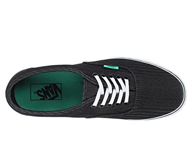 1061470a02b8 Image Unavailable. Image not available for. Color  Vans Unisex LPE (Micro  Herringbone) Black Bisque Green ...
