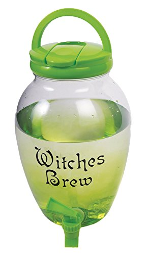 Witches Brew Drink Dispenser Halloween Drink Pitcher
