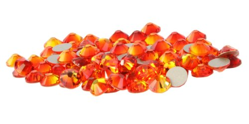 SS20 Swarovski Rhinestones - Fire Opal (1 Gross = 144 pieces) - Fire Opal Crystal