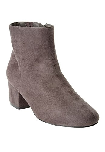 Comfortview Womens Wide Sidney Booties Grey OewHLN