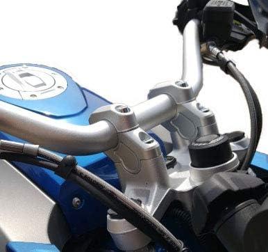 Motorbikecomponents Riser Für Lenker 30 Und 25 Mm Kompatibel Mit Bmw R 1200 1250 Gs Lc Gs Lc Adventure 13 19 Auto