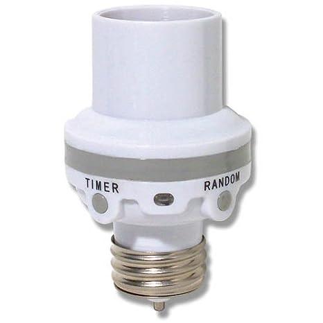 Timer For Light Bulb: Westek SLC6CBC-4 100W Programmable Screw-In Light Control - Compact  Fluorescent Bulbs - Amazon.com,Lighting